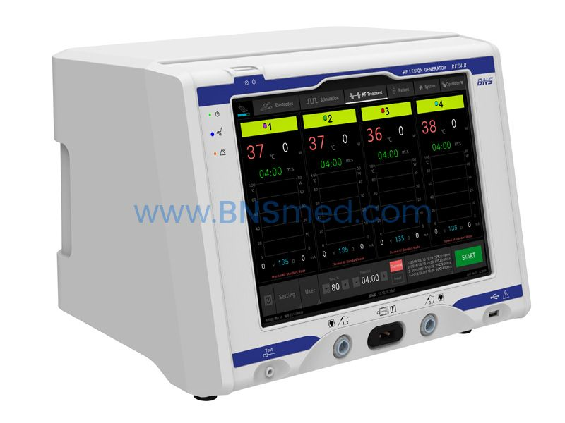 4-CH RF Lesion Generator for Pain Management